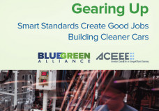Gearing Up: Smart Standards Create Good Jobs Building Cleaner Cars