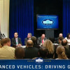 Clean Cars Star at Executive Office Building