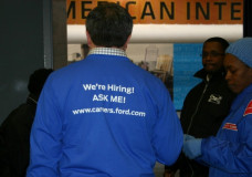 "Memo from Detroit Auto Show:  ""We're hiring!"""